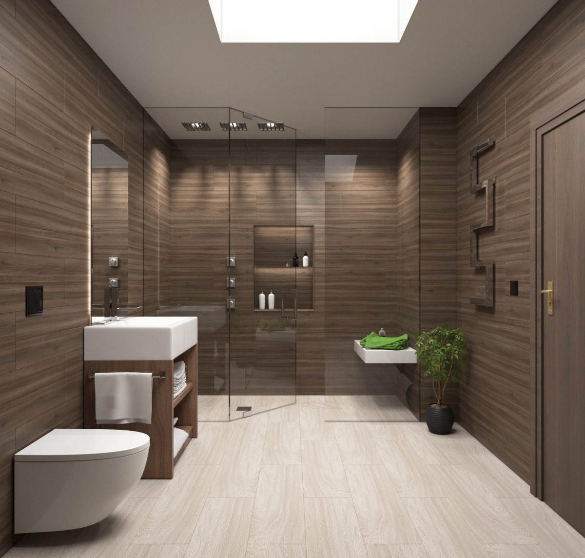 Een houten vloer in je badkamer - LivingHip