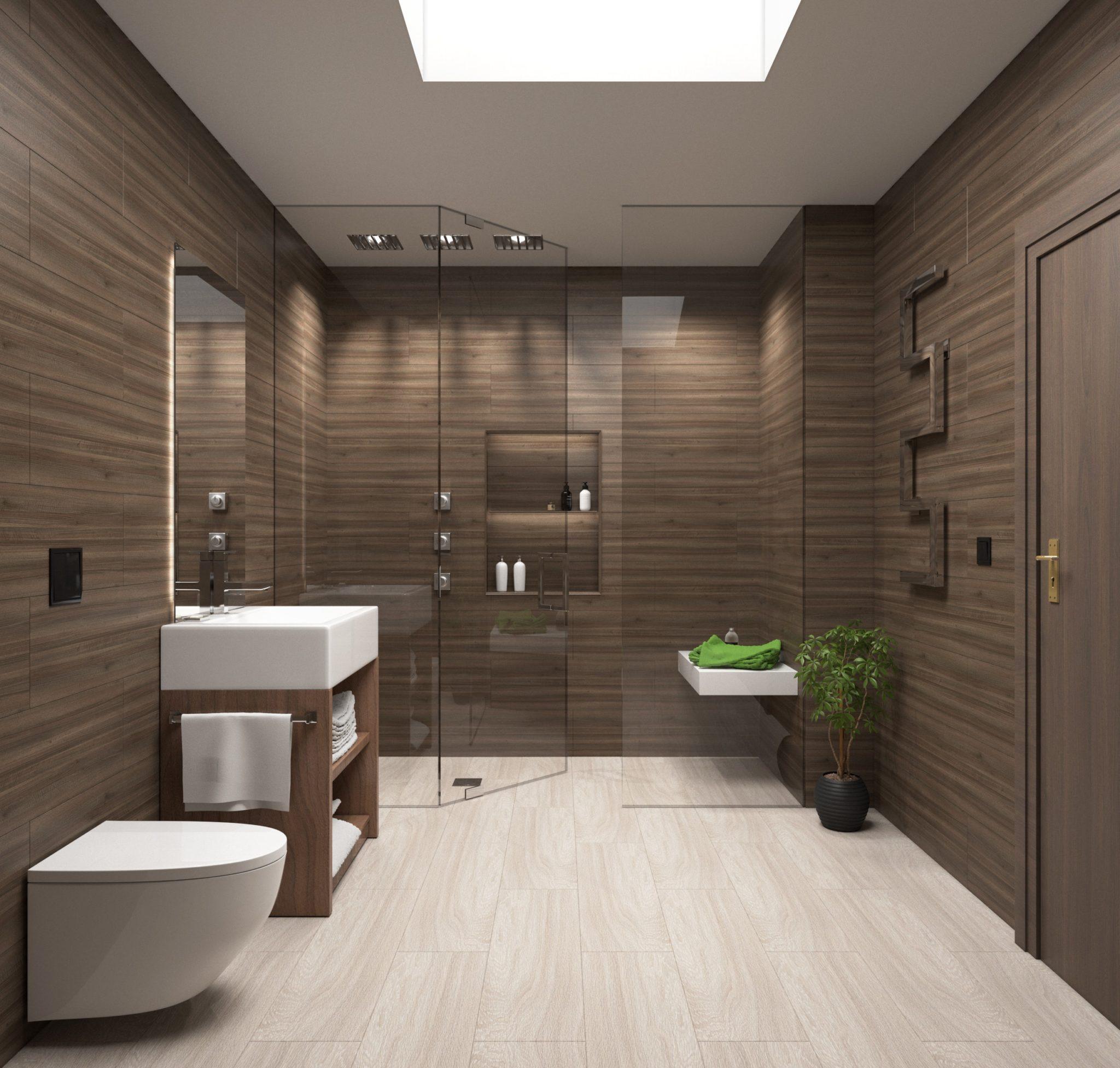 Verwonderlijk Een houten vloer in je badkamer - LivingHip JY-71