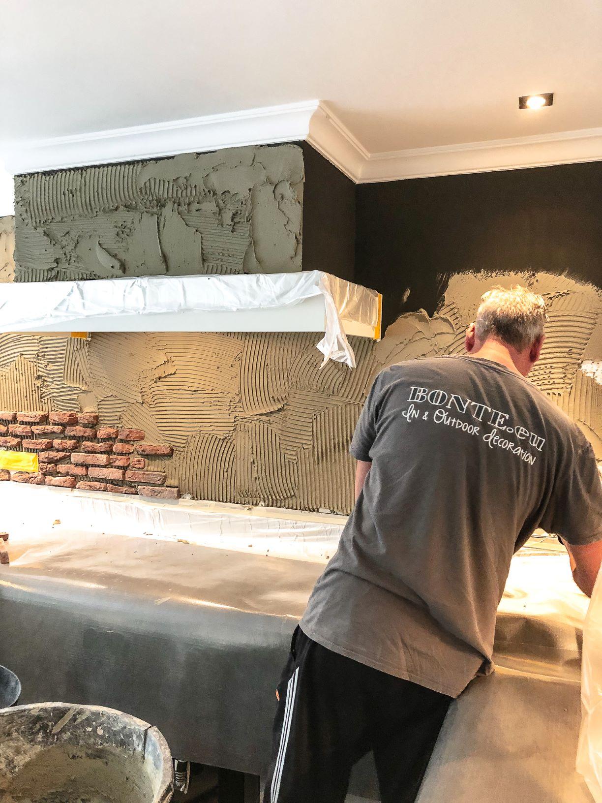 muur brick wall