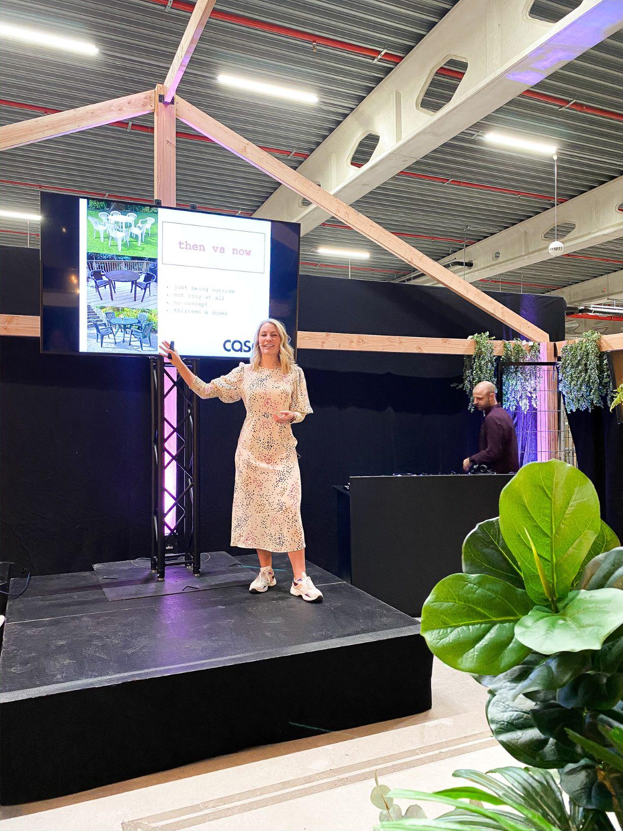 presentatie door Anne