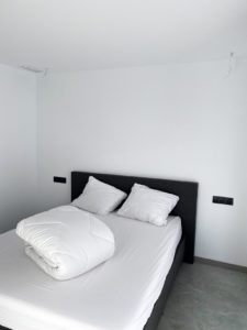 lege slaapkamer