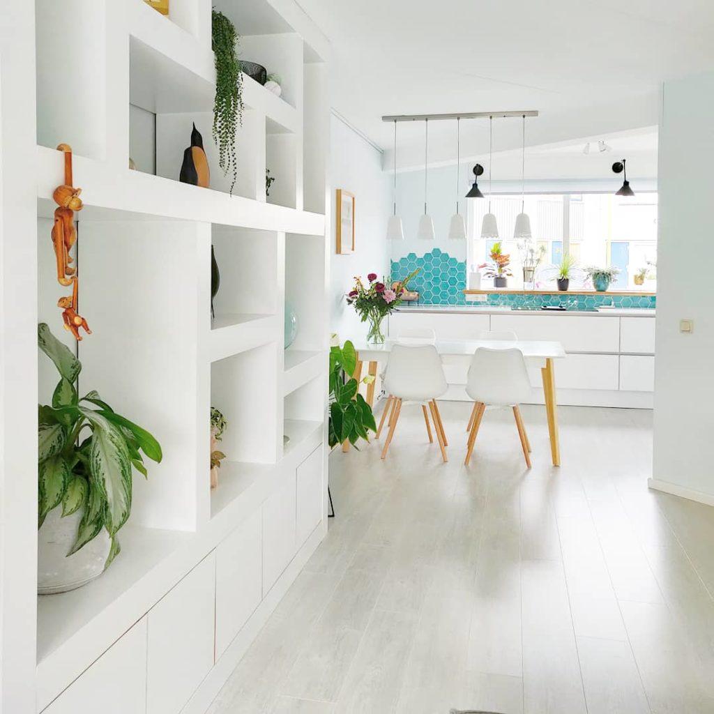 doorkijkje keuken