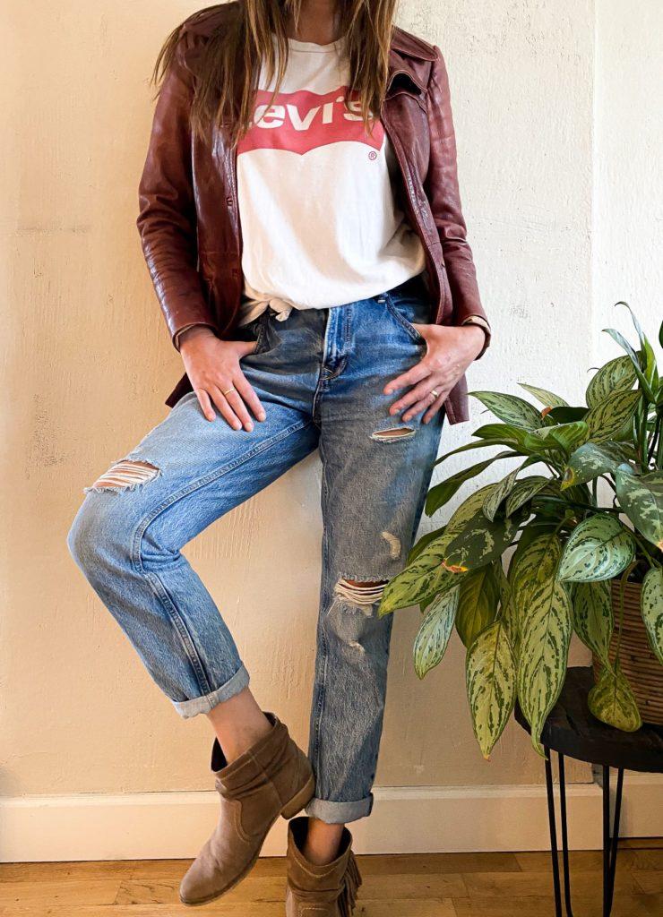 levis shirt jaren 80